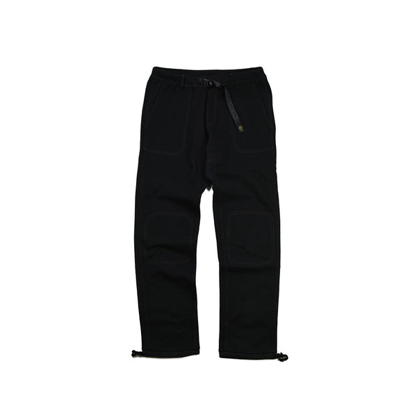 HEAVY LONG PANTS - BLK