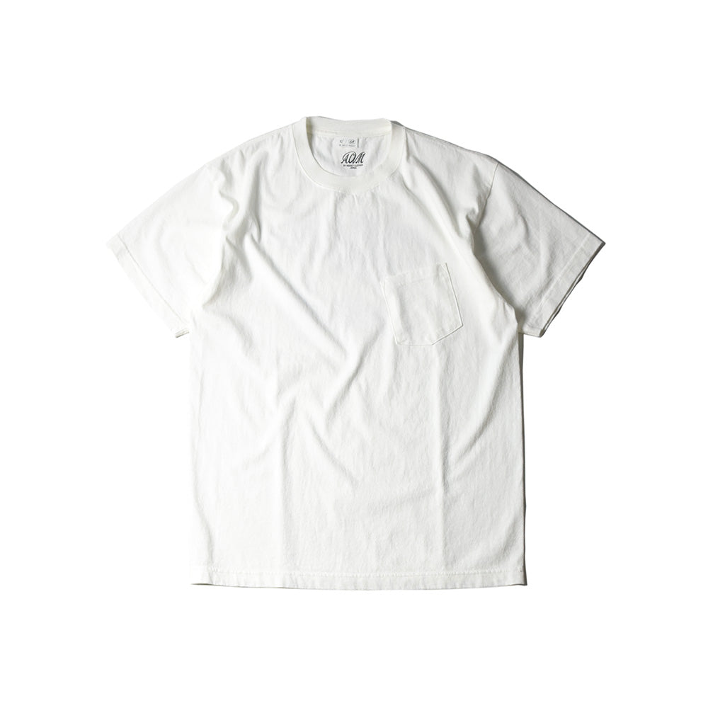 May club -【Addict Clothes】AD-CSP-05 FLYWHEEL POCKET TEE - WHITE