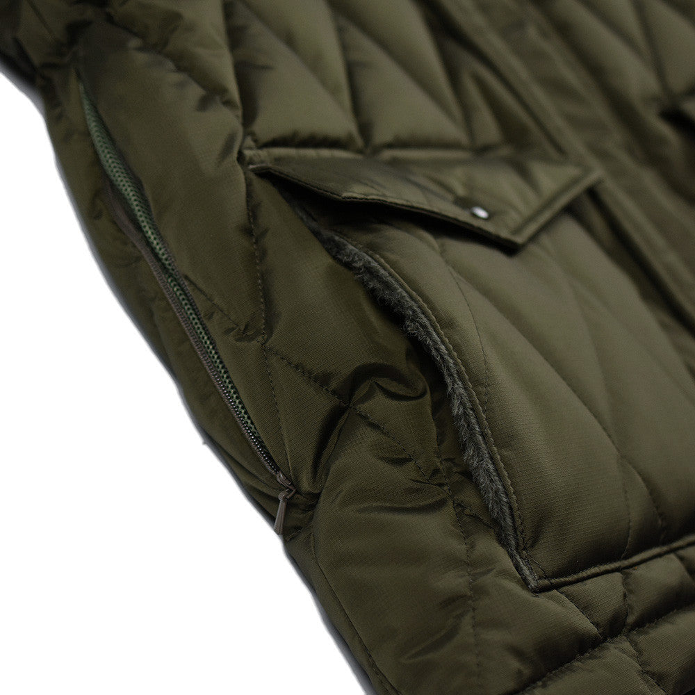 May club -【WESTRIDE】ALL NEW RACING DOWN JKT2 RELAX FIT with WIND GUARD - OLIVE