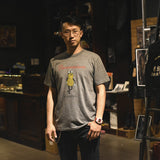 "May club -【WESTRIDE】""MR. GENERATE"" TEE - GREY"