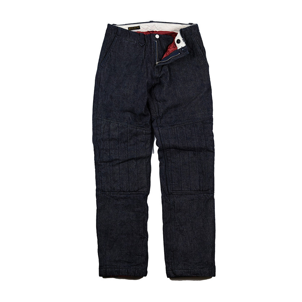 May club -【WESTRIDE】RELAX COMFORMAX PADD PANTS - BLUE
