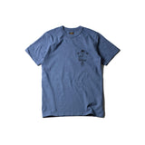 "May club -【WESTRIDE】""DEVIL'S MOTOR OIL"" TEE - W.BLUE"