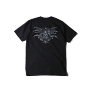 "May club -【WESTRIDE】""DEVIL'S MOTOR OIL"" TEE - BLACK"