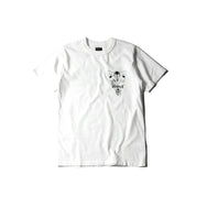 "May club -【WESTRIDE】""DEVIL'S MOTOR OIL"" TEE - WHITE"