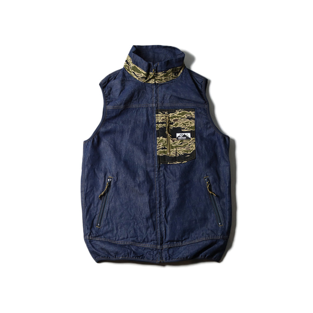 May club -【WESTRIDE】CYCLE RETRO VEST - CAMO