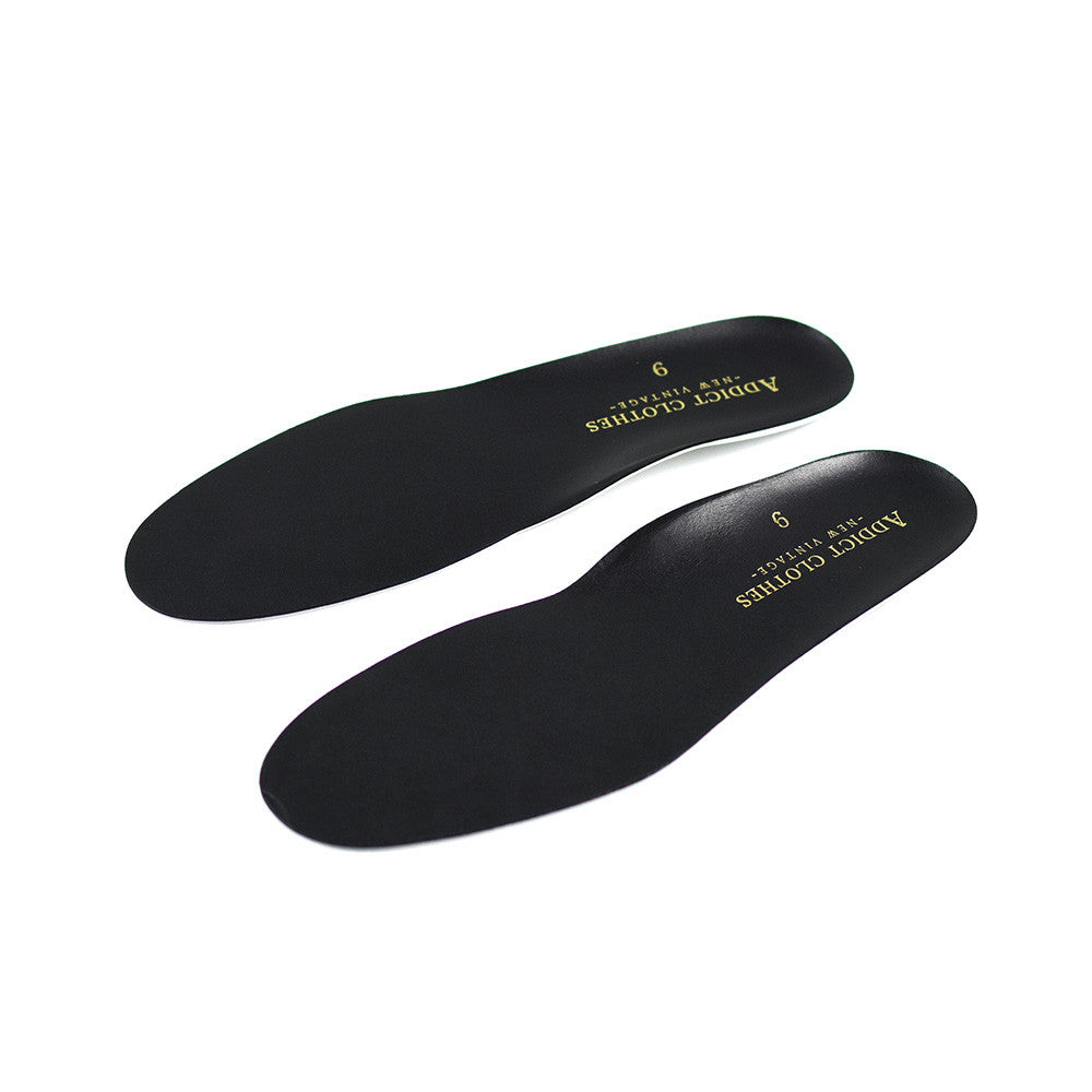 May club -【Addict Clothes】Leather Insole