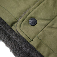 May club -【WESTRIDE】REVERSIBLE ARMY VEST - OLIVE