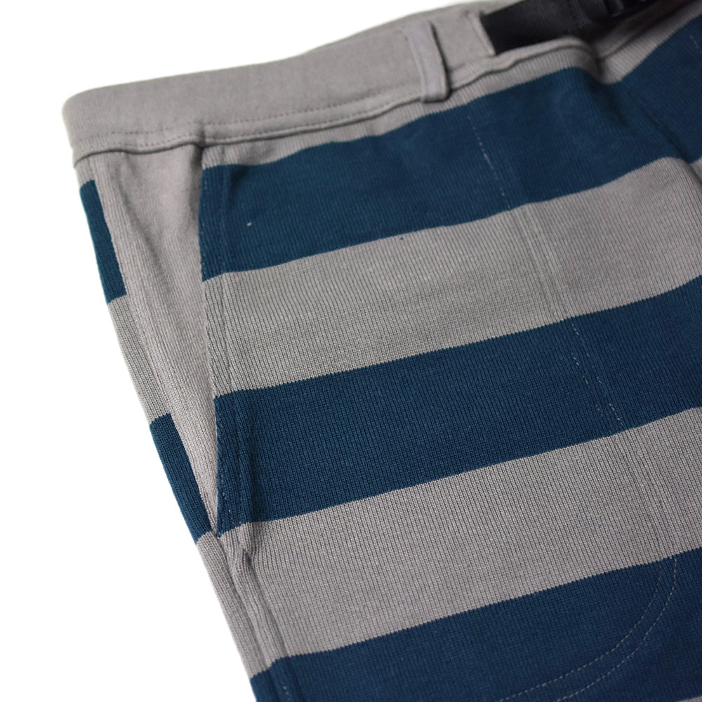 May club -【WESTRIDE】BORDER SHORTS - NVY/GRY
