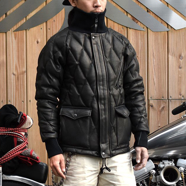 May club -【WESTRIDE】ALL NEW RACING DOWN JKT2 RELAX FIT with WIND GUARD - DEERSKIN(WITH WIND GUARD)