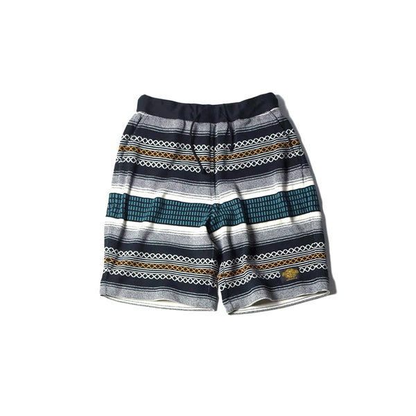 NGT KNIT SHORTS - OUTLAW RUG BLUE