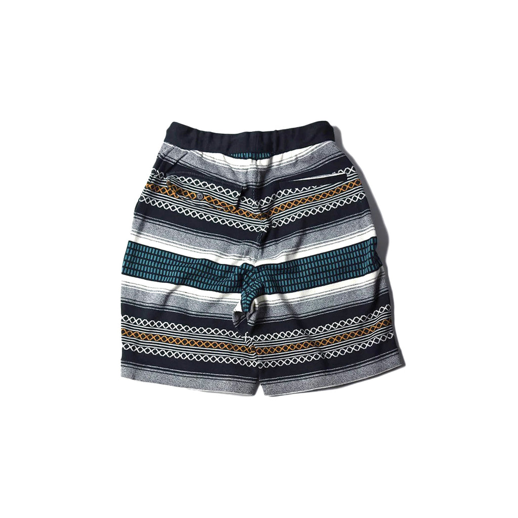 May club -【WESTRIDE】NGT KNIT SHORTS - OUTLAW RUG BLUE
