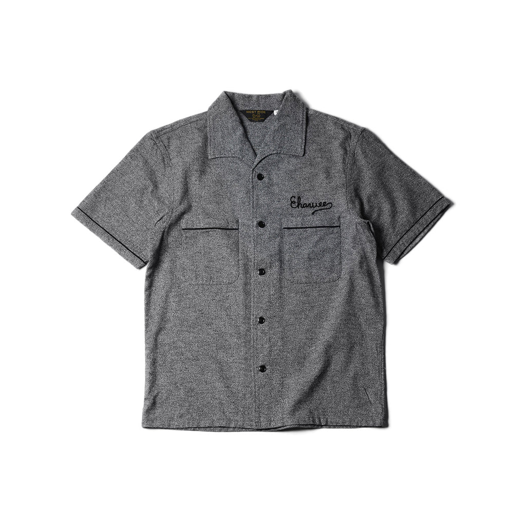 May club -【WESTRIDE】SPLITTER SHORT SLEEVE SHIRTS