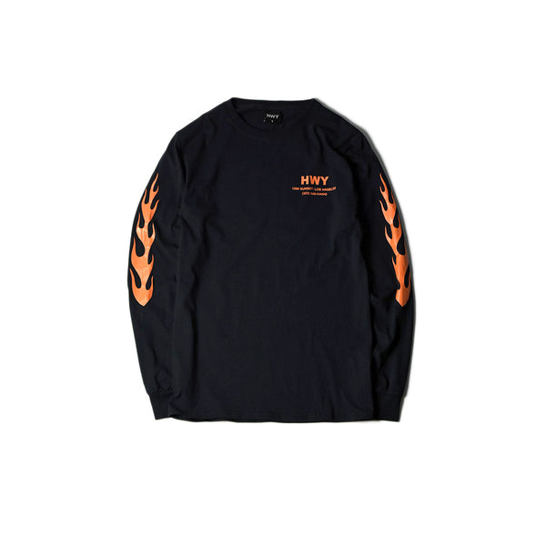 HAWG LONG SLEEVE TEE - BLACK