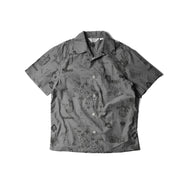 May club -【WESTRIDE】CALIFORNIA SOUVENIR SHIRTS - GREY