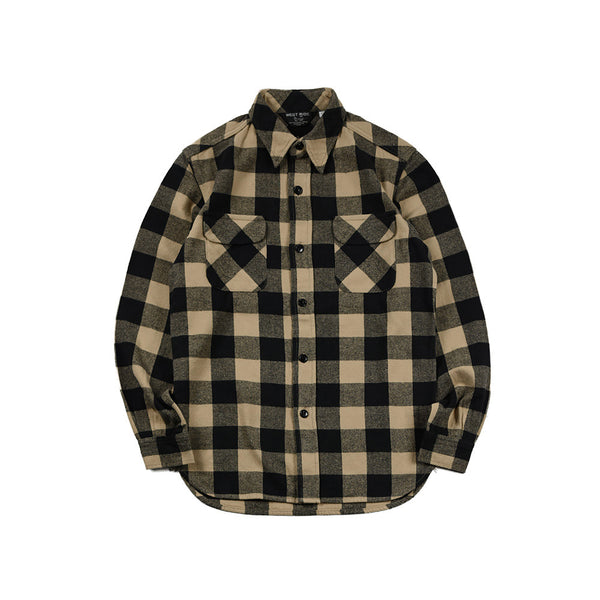 FLAP SHIRTS - BLK/OFF