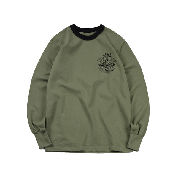 """EL AGUILA"" LONG SLEEVES TEE - SLATE"