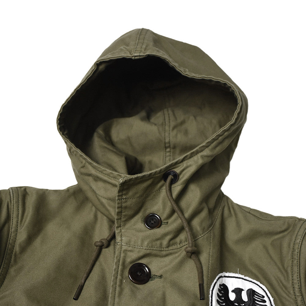 May club -【WESTRIDE】ARMY CYCLE HOODIE