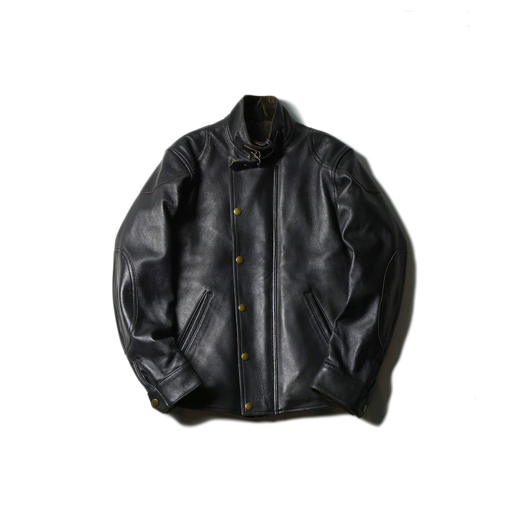 May club -【Addict Clothes】AD-09B SHEEPSKIN ULSTER JACKET - BLACK