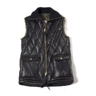 May club -【WESTRIDE】ALL NEW RACING DOWN VEST - HORSEHIDE