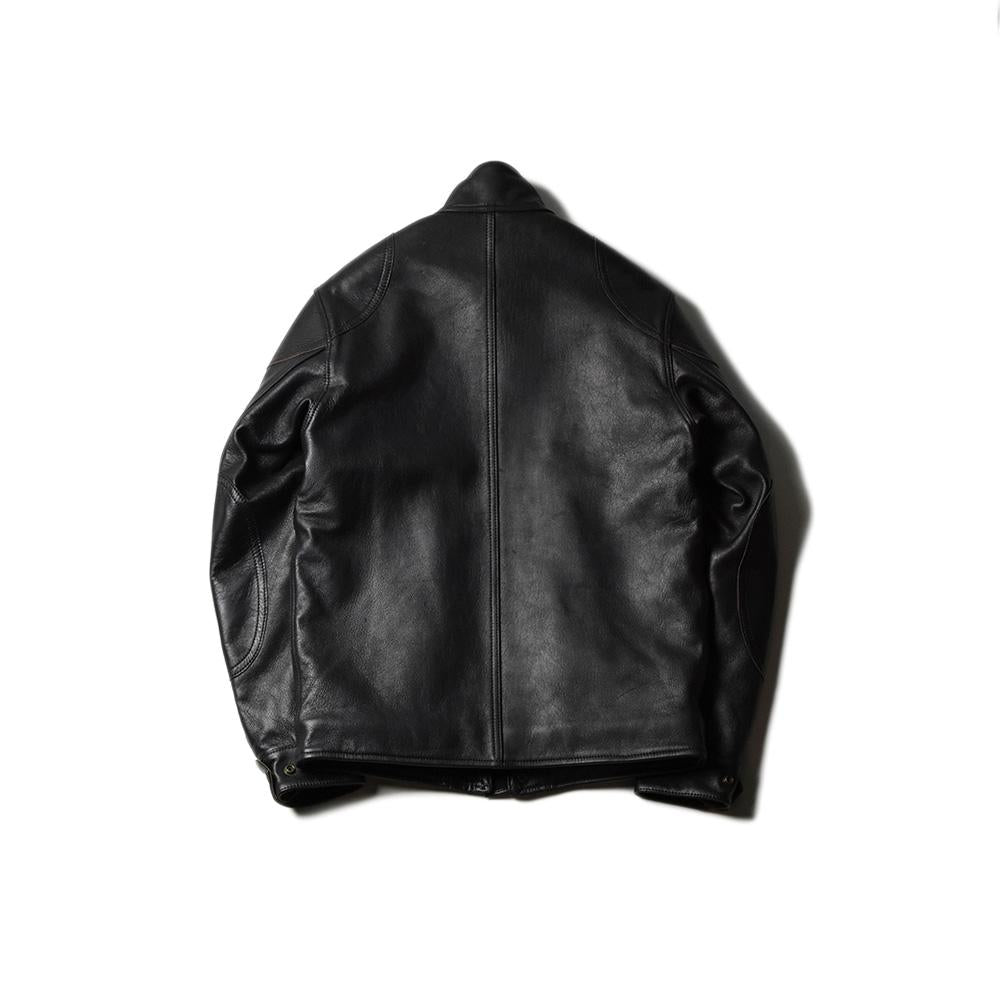 May club -【Addict Clothes】AD-09 SHEEPSKIN ULSTER JACKET - BLACK