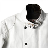 May club -【Addict Clothes】AD-09B SHEEPSKIN ULSTER JACKET - WHITE