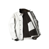 May club -【Addict Clothes】AD-09 SHEEPSKIN ULSTER JACKET - WHITE