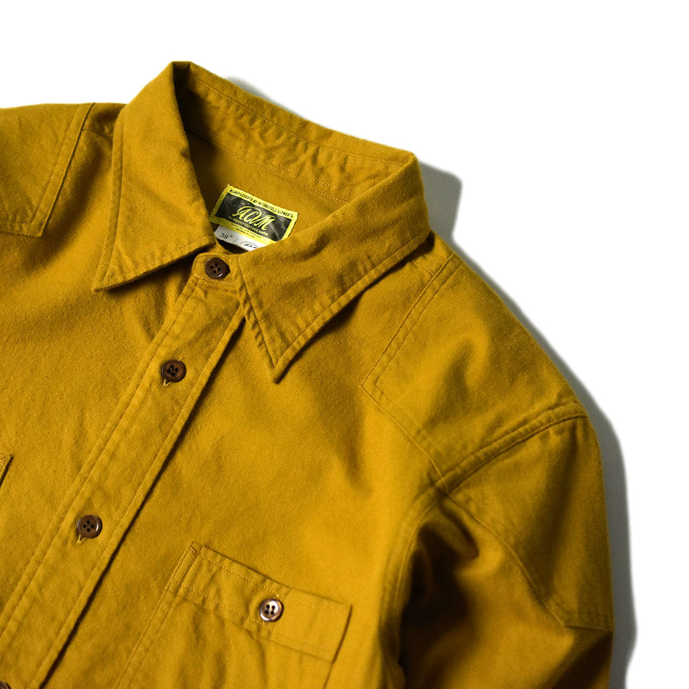 May club -【Addict Clothes】ACV-SH01 PADDED FLANNEL SHIRT - MUSTARD