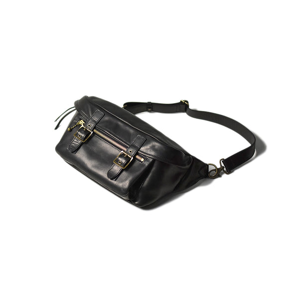 May club -【Addict Clothes】ACV-BG02L HORSE LEATHER WAIST BAG