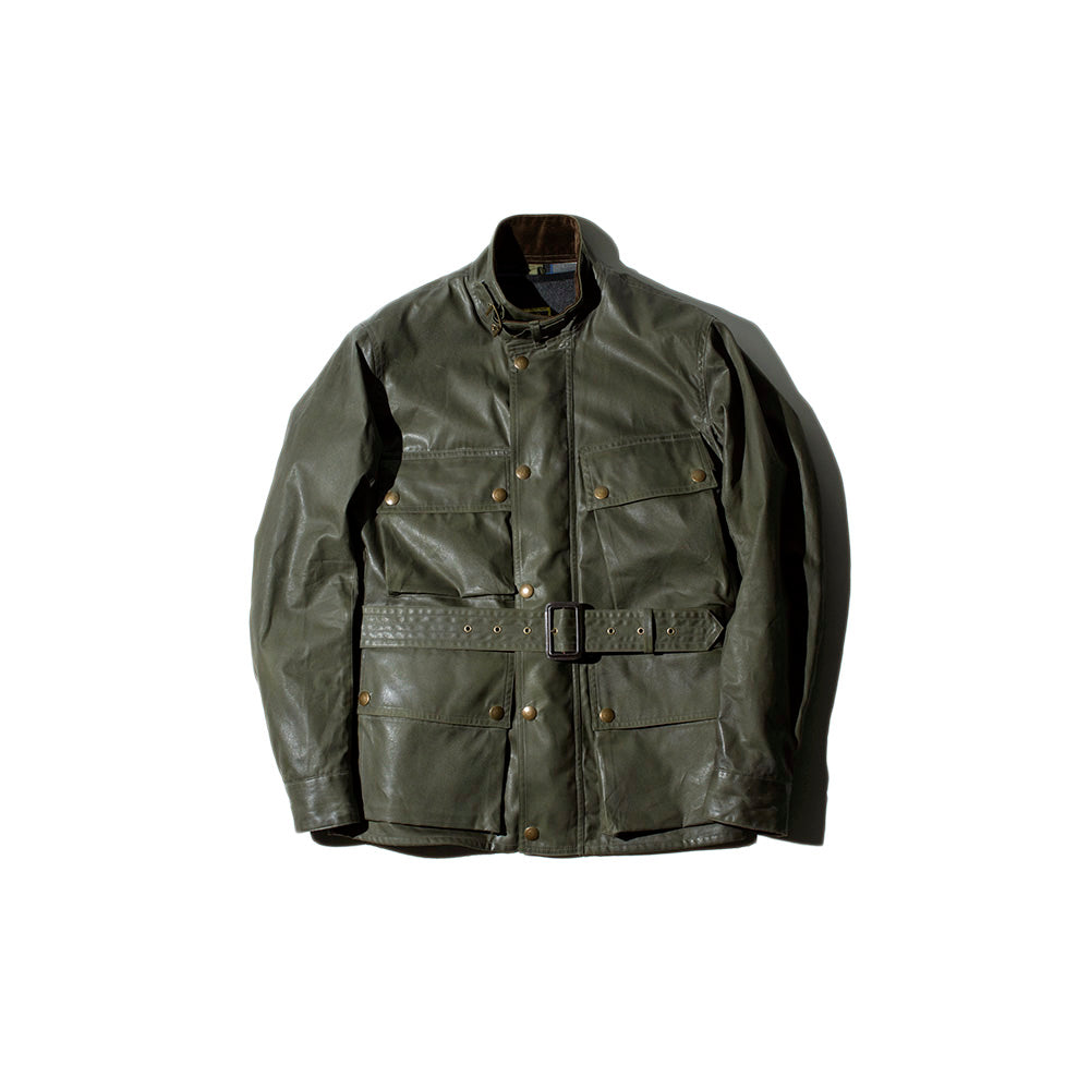 May club -【Addict Clothes】ACV-WX02 WAXED COTTON BMC JACKET - KHAKI GREEN