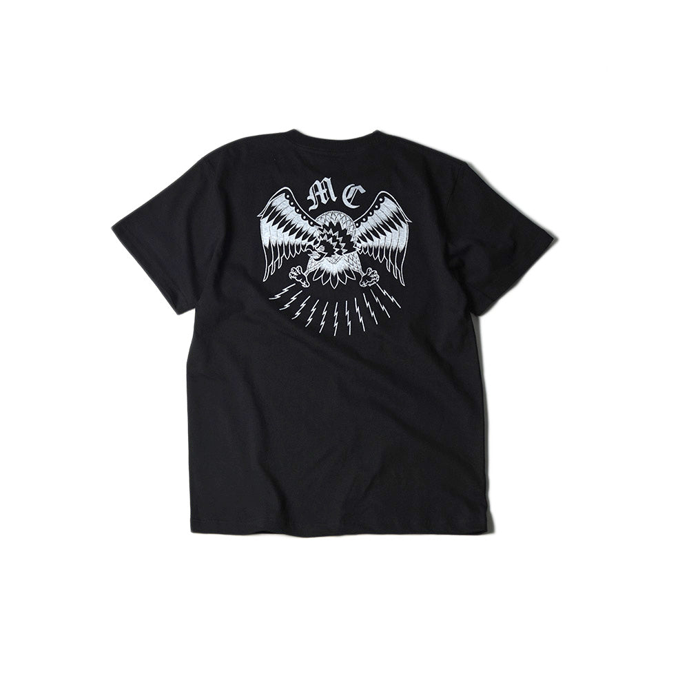May club -【May club】MAY CLUB x KNUCKLE 7TH ANNIVERSARY TEE - BLACK