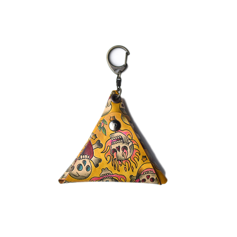 May club -【GDW Studio】TRIANGLE COIN CASE - SKULL