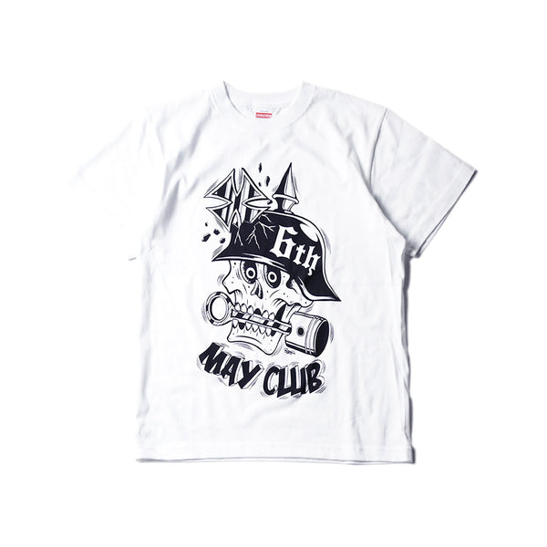 MAY CLUB 6th ANNIVERSARY TEE by KNUCKLE