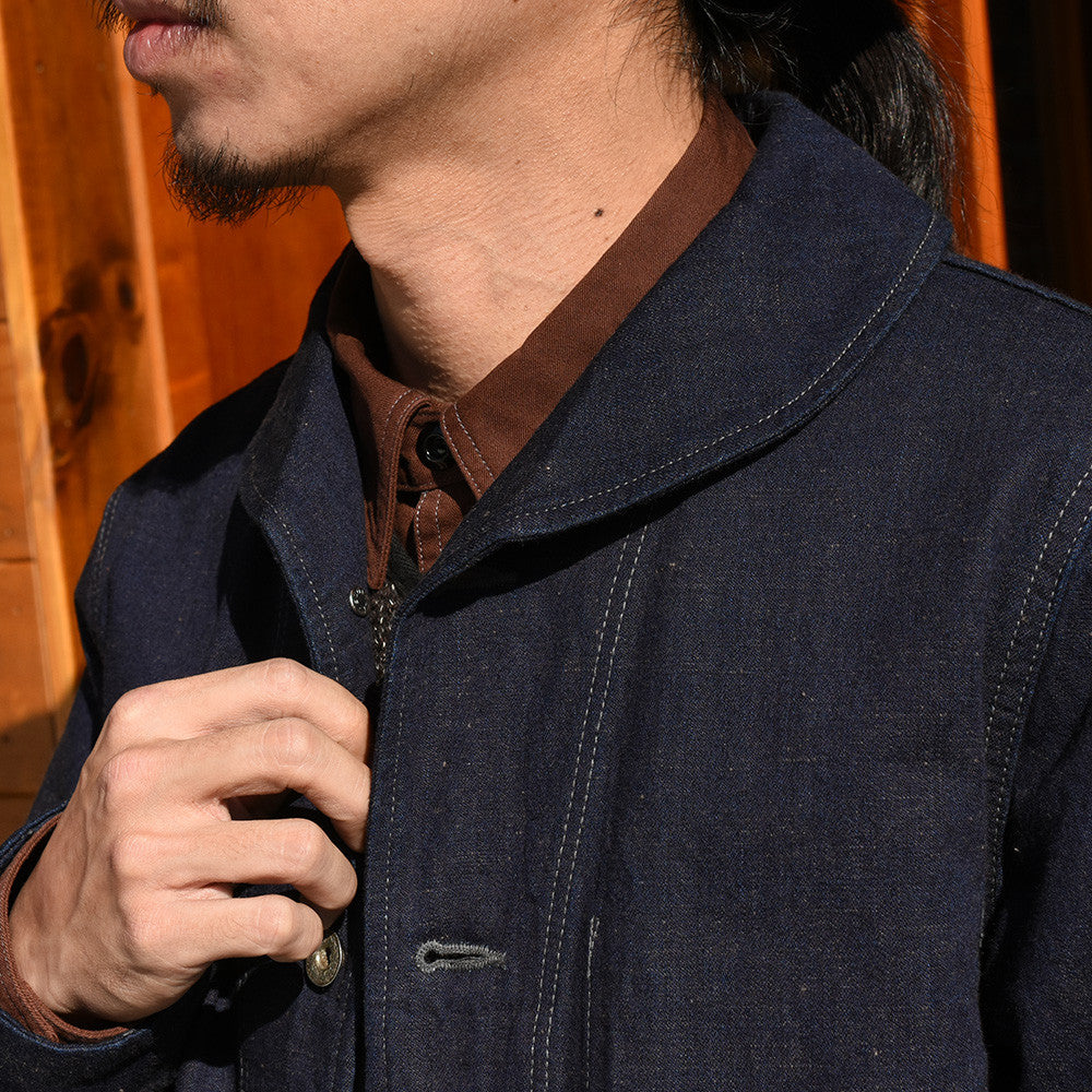 May club -【Trophy Clothing】MIL DENIM USN COVERALL