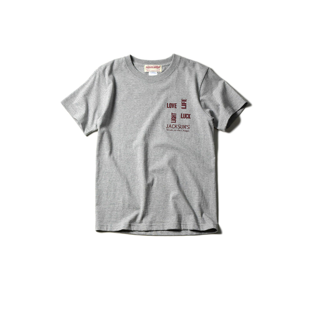 May club -【JACKSUN'S】JACKSUN'S 4L SS T-SHIRTS - GREY