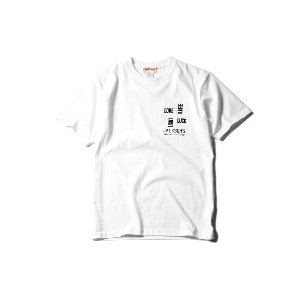 May club -【JACKSUN'S】JACKSUN'S 4L SS T-SHIRTS - WHITE