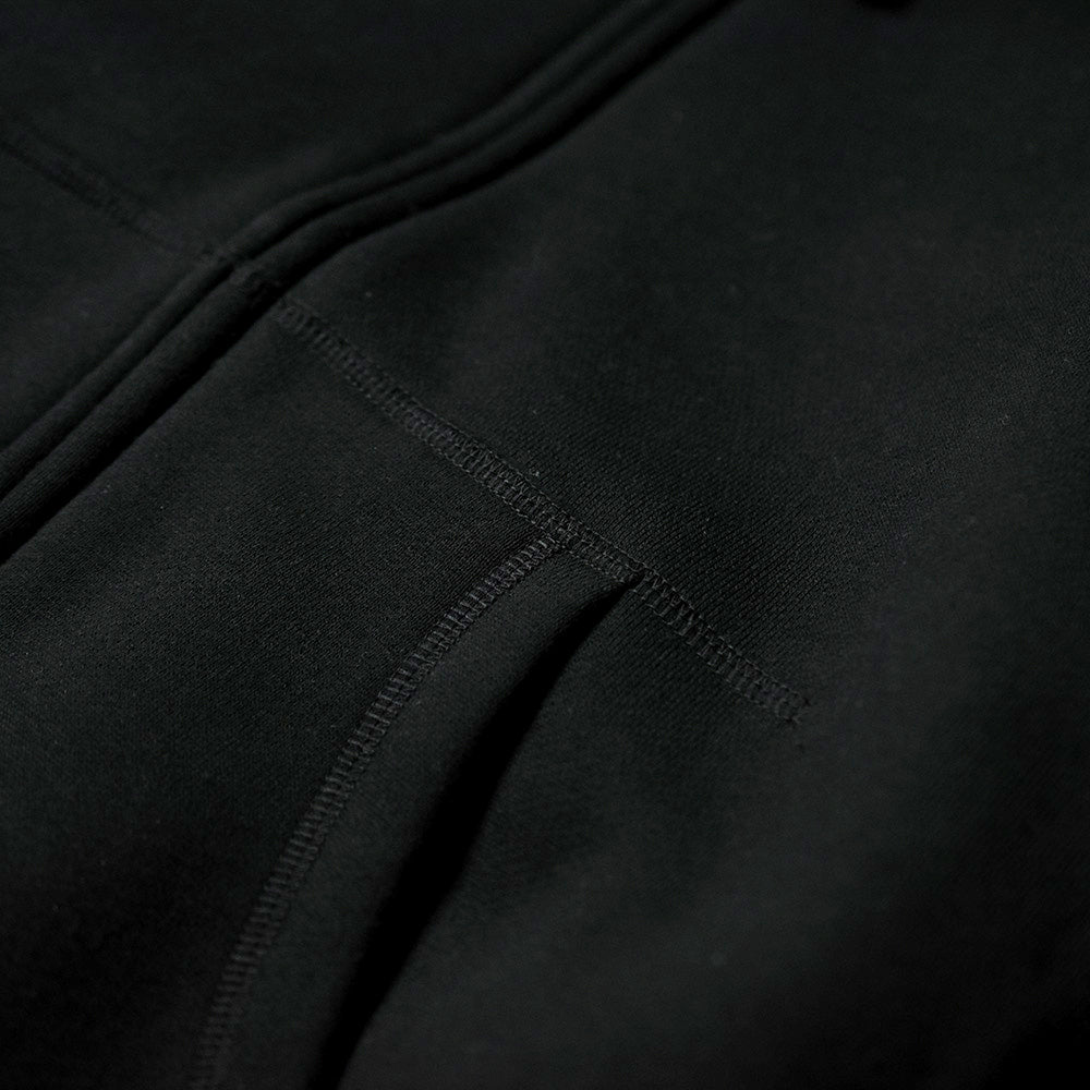May club -【Addict Clothes】ACV-SWP01 PRINTED ZIP-UP PARKA - BLACK