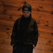 May club -【THE HIGHEST END】FIELD JKT - BLACK
