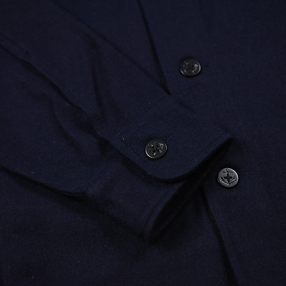 May club -【THE HIGHEST END】CPO SHIRTS - NAVY