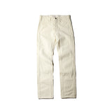 May club -【THE HIGHEST END】HERRINGBONE PAINTER PANTS - WHITE