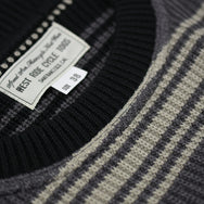 May club -【WESTRIDE】CLASSIC RIB RUG SWEATER - MIX YELLO
