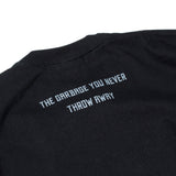May club -【WESTRIDE】GARBAGE WAGON CxTxM DESIGN TEE - BLACK