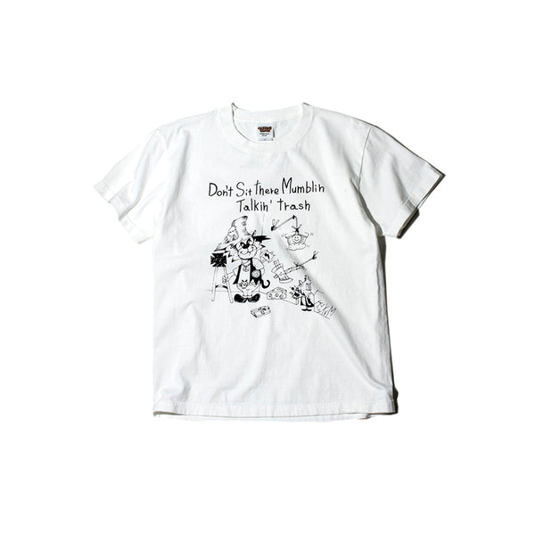 May club -【WESTRIDE】GARBAGE WAGON CxTxM DESIGN TEE - VANILLA