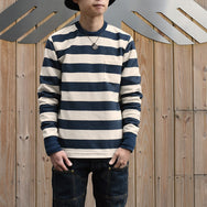 May club -【Trophy Clothing】MID BORDER LONG TEE