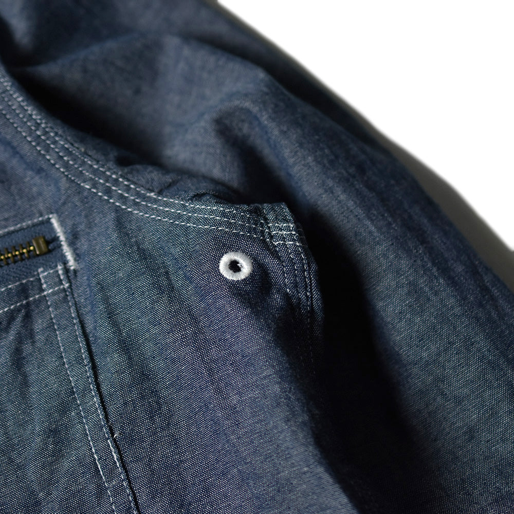 May club -【B.W.G JAPAN】CHAMBRAY SHIRTS - BLUE
