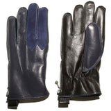 ACV-G01H RACING BOA GLOVES - DARK BLUE HORSEHIDE