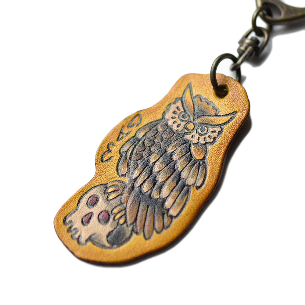 May club -【GDW Studio】KEY TAG - OWL SKULL