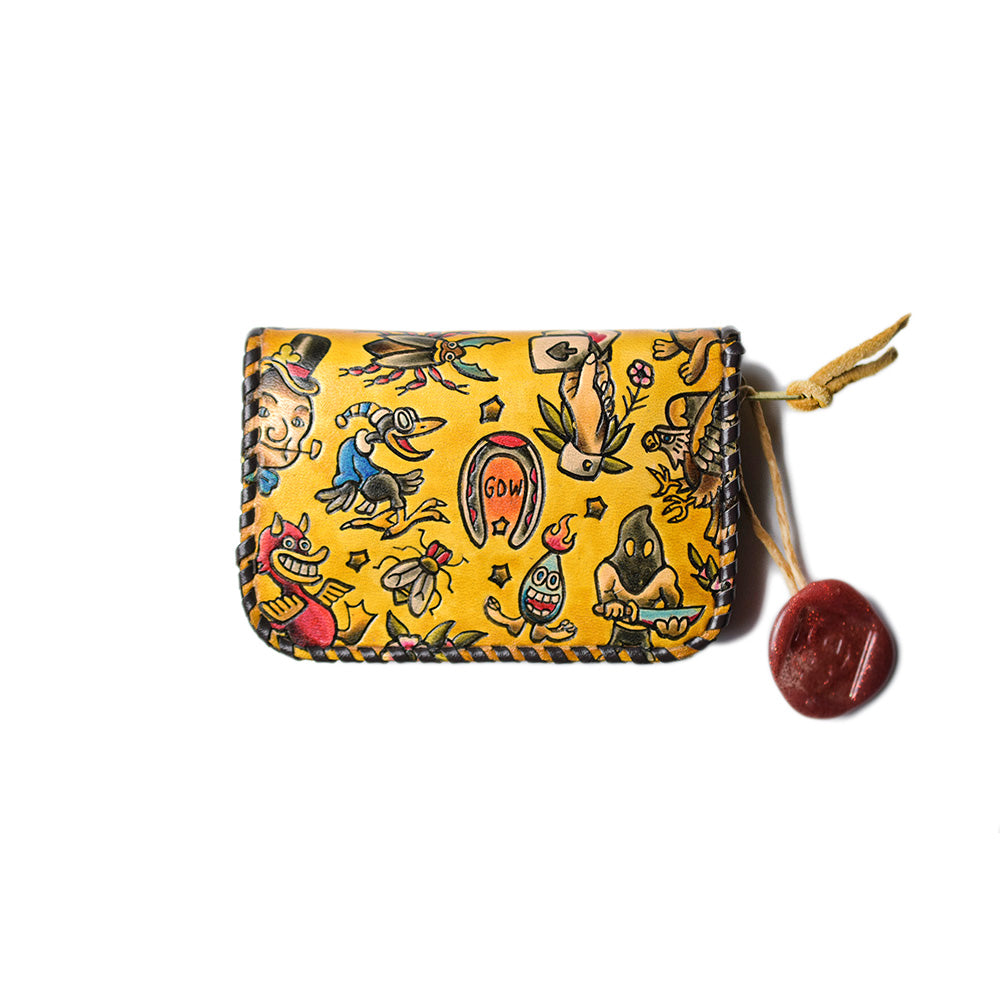 May club -【GDW Studio】Coin Purse - Traditional American Tattoo