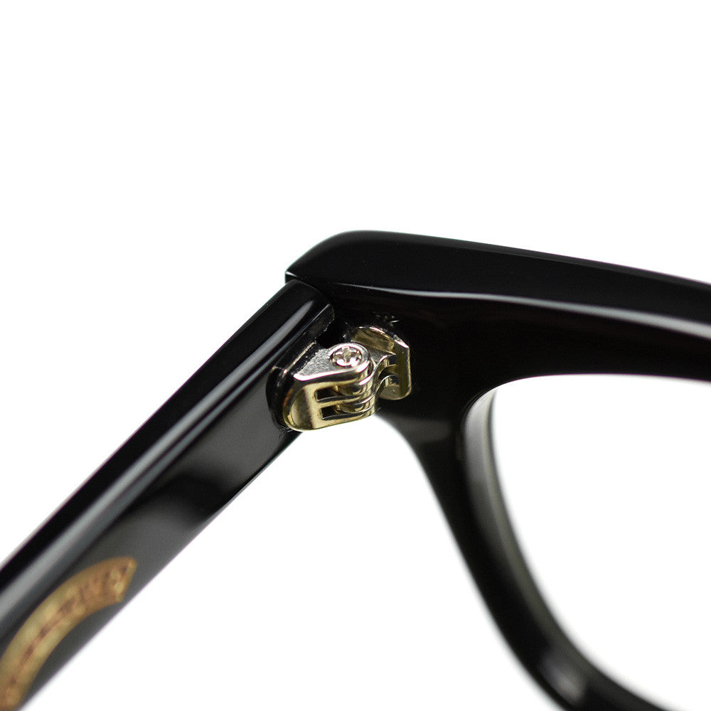 May club -【May club】May club x T.H.E x UNCROWD 60's Prisoner Glasses - Black
