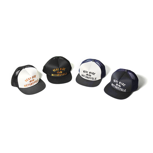 TWILL MESH CAP - CHECKER FLAG