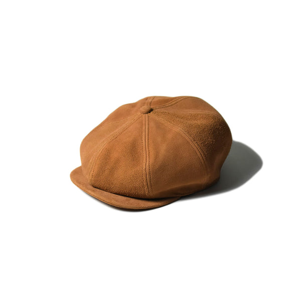May club -【Addict Clothes】ACV-HG01L DEER SUEDE 8 PIECE CASQUETTE - MUSTARD